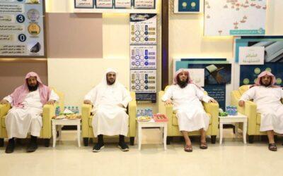 وفد من الجمعية يزور جمعية القرآن ببريدة